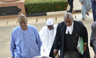 Dasuki's memory loss: $2.1 billion fraud charge can do that to you