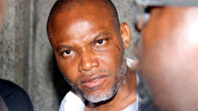 Nnamdi Kanu: Anyone who tries to arrest me will die