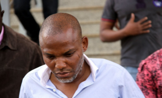Nnamdi Kanu has been placed under house arrest, says lawyer