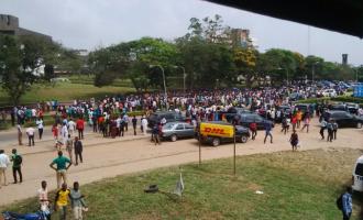 OAU shutover unrest