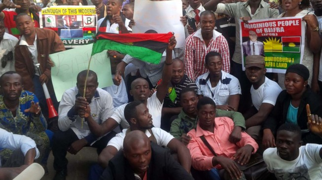 Biafra Day Army denies shooting protesters in Abia