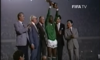 30 years on, Buhari fulfills promise to Eaglets