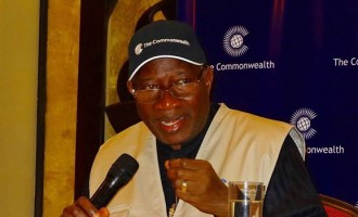 Jonathan holds press conference in Switzerland