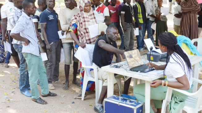 INEC begins nationwide voter registration