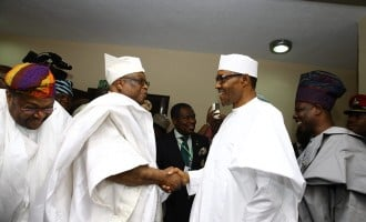 Buhari visits Awujale amid tight security