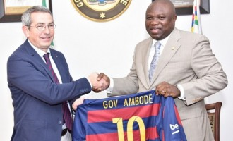 Barcelona to open first African football academy in Lagos