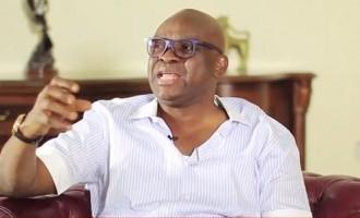 Fayose blames Buhari for sacking budget DG
