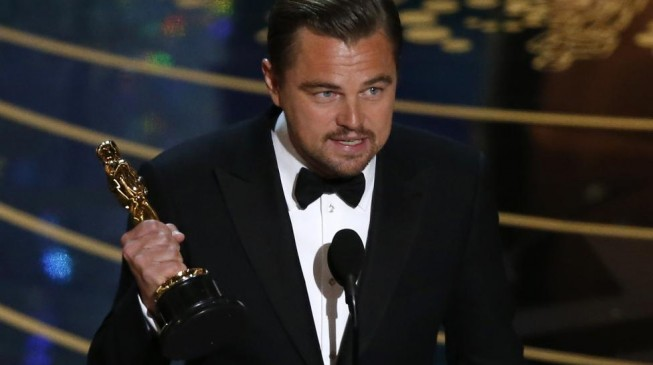 DiCaprio: Climate change 'the most urgent threat' of all