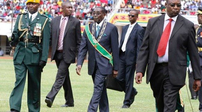 Mugabe pulls out of Indian festival over security fears