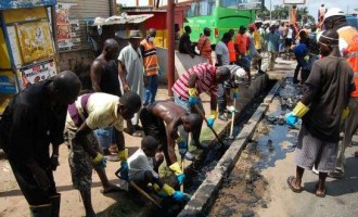 Lagos cancels monthly environmental sanitation