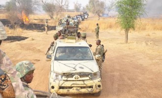44 female insurgents surrender to 'gallant troops'