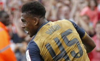 Iwobi recovers from 'traveller's diarrhoea', returns to team