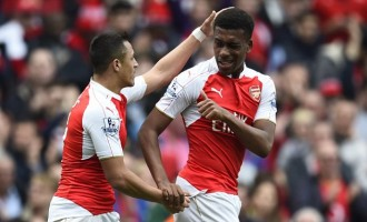 Iwobi competes with Sanchez, Ozil, for Arsenal player of the month award