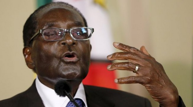 Mugabe says no, 'forever no' to anti-govt protests