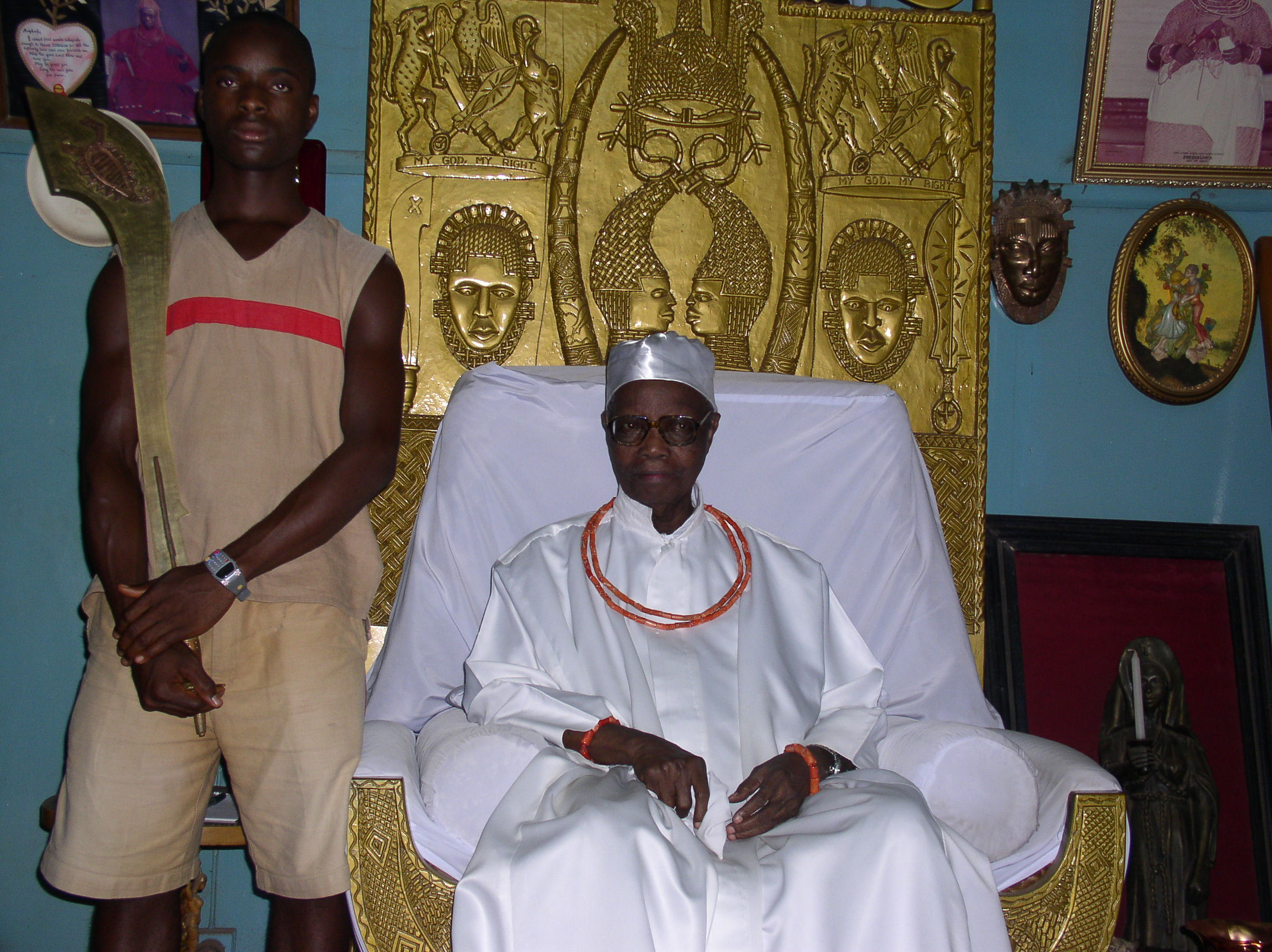 Edo Confirms Oba Of Benin S Death Thecable