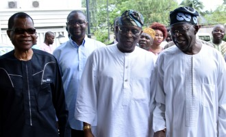 Amosun, Fashola, Fayemi absent as south-west APC leaders welcome Osoba