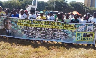 Youths endorse Mugabe for 2018 presidential election