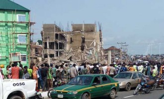 UPDATED: Ogun rescues victims of collapsed building