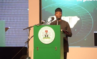 All institutions of government are corrupt, says Osinbajo