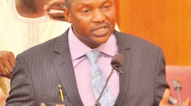 #Mainagate: Senate begins investigation, meets with AGF Malami