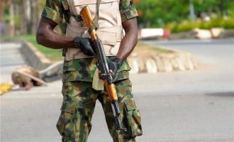 Confusion as soldier shoots his superior in Borno