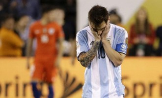 'Rexit, Brexit, now Mexit?' Twitter reacts to Messi's international retirement