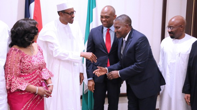 Buhari: Dangote made remarkable sacrifices in ending Ebola