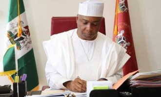 INTERVIEW: 8th senate is not afraid of anybody, says Saraki