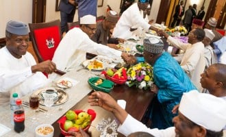 WE DON'T WANT: Lawmakers 'shun' invitation to dine with Buhari