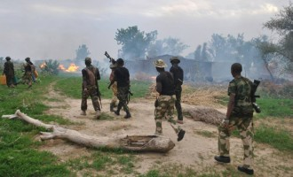 Troops 'prevent' Boko Haram from taking over Borno town