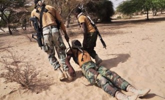 Army 'loses' 4 soldiers but 'kills' 22 insurgents