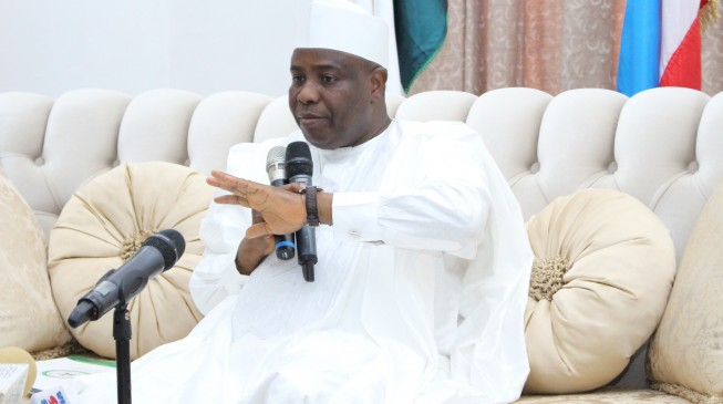 'Buhari abandoned Jonathan's projects', 'APC raping democracy' — five issues Tambuwal raised in defection speech