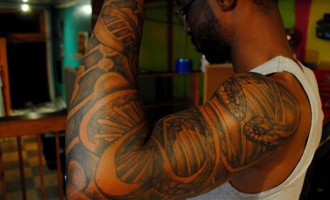Tattoo on your body? Sorry police is not for you