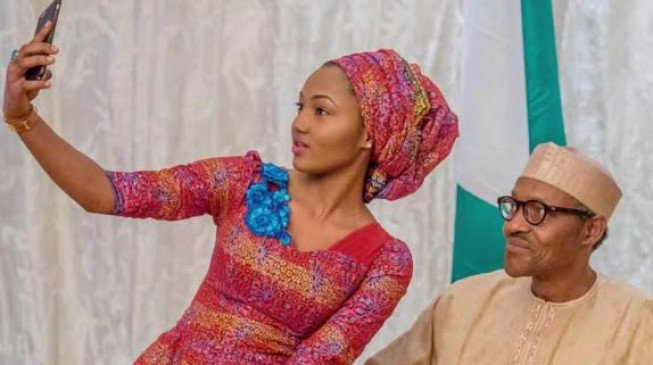 I can't describe my father's love for Nigeria, says Buhari's daughter