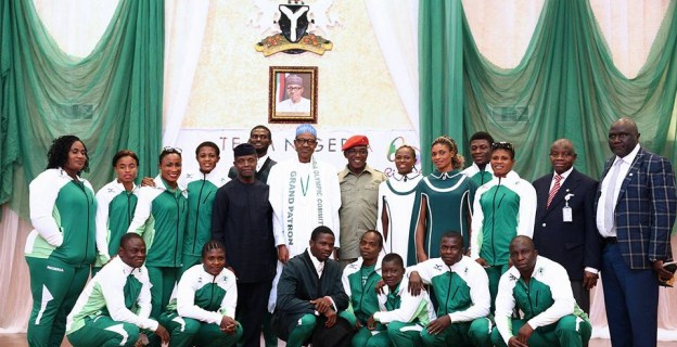 Dalung leads Olympic team to Aso Rock