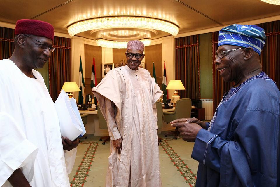 Buhari and Obasanjo3