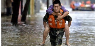 72 killed, 78 missing, 50,000 homes destroyed after heavy rain in China