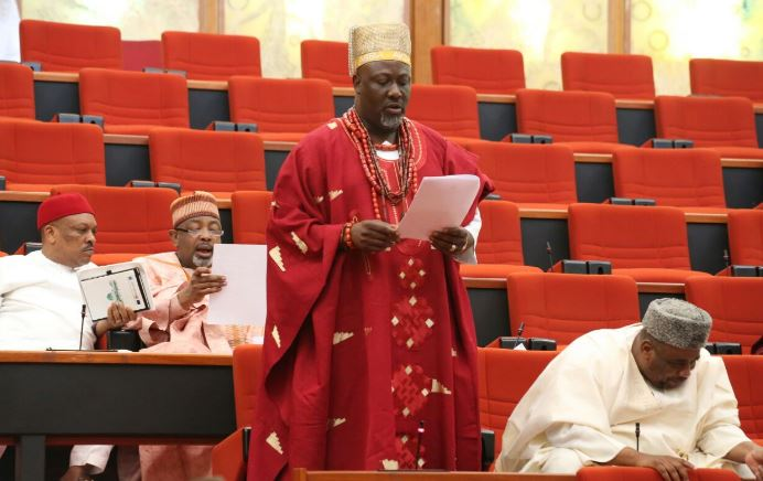 Dino Melaye: INEC releases schedule for recall of Senator - (See timetable)