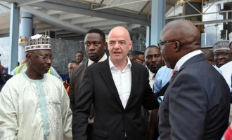 FIFA warns Nigeria: Return NFF control to Pinnick by Monday or face suspension