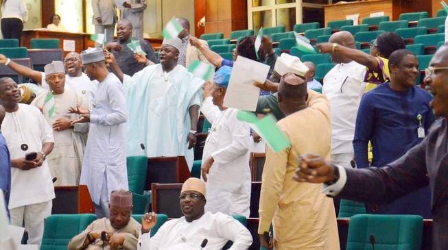 House in rowdy session over bill to provide immunity for legislators