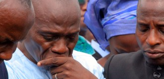 PHOTOS: Tears as slain Abuja preacher is buried