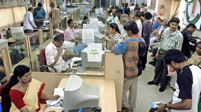 1 million Indian bank workers go on strike