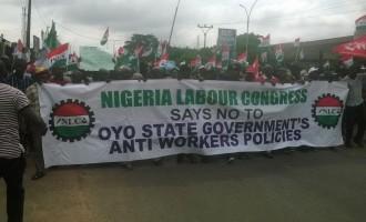 Oyo workers begin warning strike