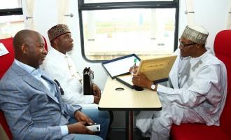 Amaechi: Buhari sleeps and wakes up thinking about our railway