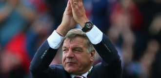 Finally, Allardyce confirmed England manager