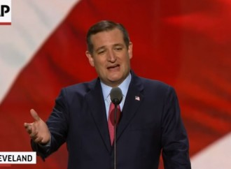 VIDEO: Republicans boo Ted Cruz for not endorsing Trump
