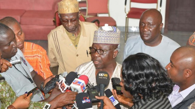 Ojudu has announced his withdrawal from Ekiti guber race but Al-Makura says he's still an aspirant