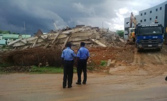 6 rescued, 2 trapped in Abuja building collapse