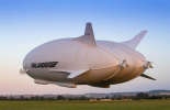 World's largest aircraft, Airlander 10, lifts off