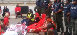 VIDEO: BBOG dares police, vow to continue Unity Fountain protest